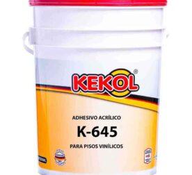ADHESIVO ACRILICO PARA PISOS VINILICOS K-645 Adhekol®