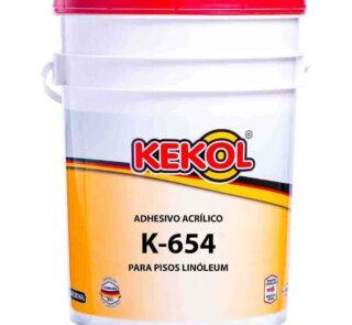 ADHESIVO ACRILICO PARA PISOS DE LINOLEUM K-654