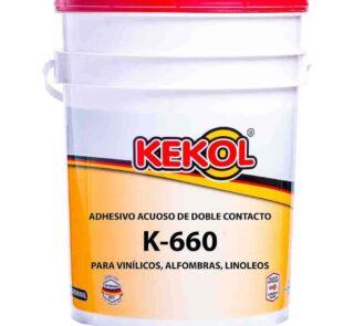 ADHESIVO ACRILICO PARA PISOS DE GOMA Y PVC K-660 Adhekol®